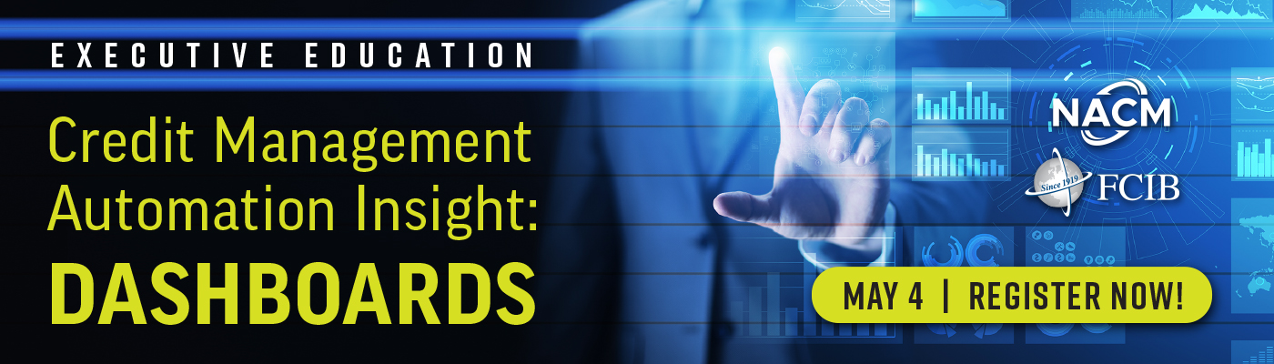 Executive Education: Credit Management Automation Insight: Dashboards - Webinar - May 4, 2021