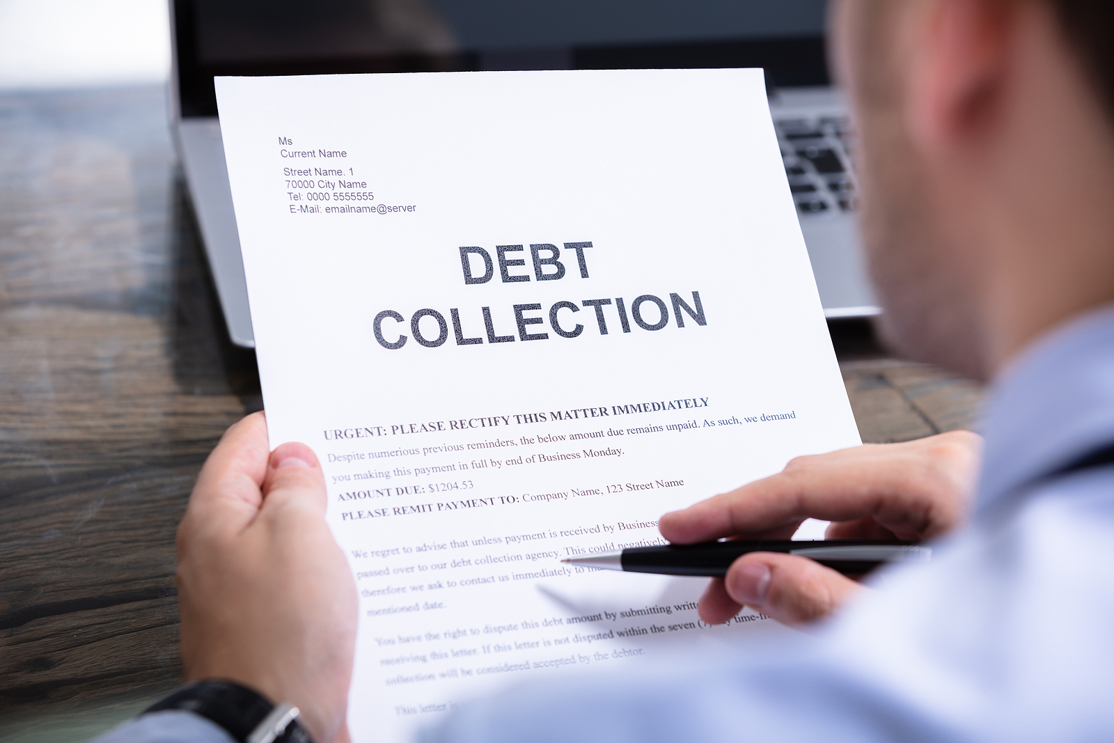 Financial Protection Measures Make Debt Collection Challenging