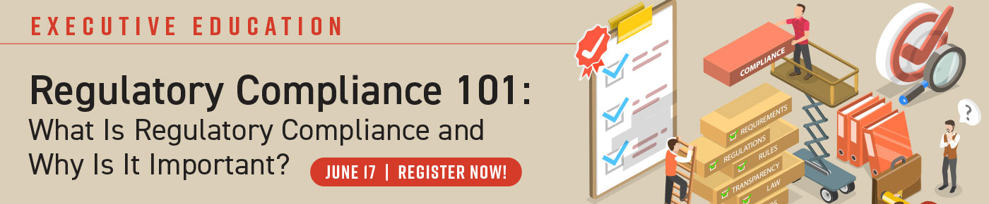 Regulatory Compliance 101: What Is Regulatory Compliance and Why Is It Important? - Webinar - June 17, 2021