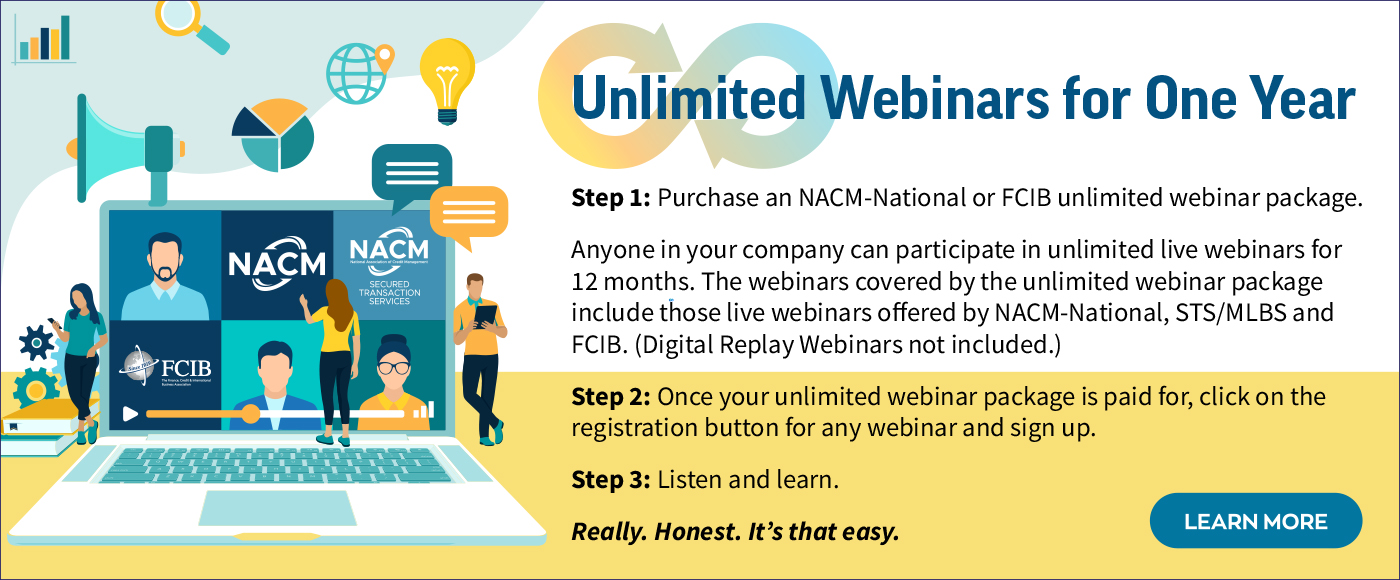 Unlimited Webinars for One Year!