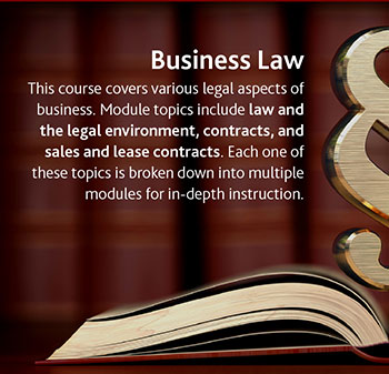 Business Law - Learn more about this course.