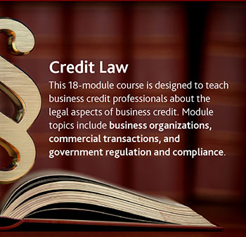 Credit Law - Learn more about this course