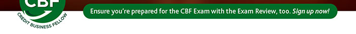 Ensure you're prepared for the CBF Exam with the Exam Review. Click to sign up now!