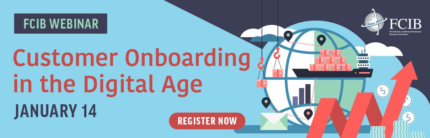 Customer Onboarding in the Digital Age - Webinar - January 14, 2021